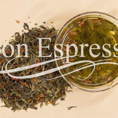 Зеленый чай с натуральными добавками